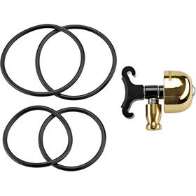 Lezyne Classic Sonnette S, brass